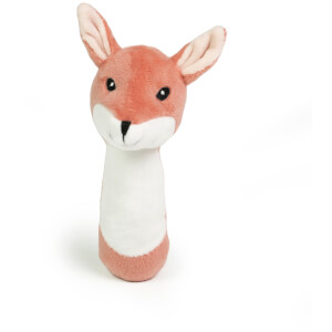 Kids Concept Edvin Plush Rattle Fox
