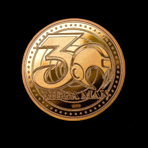 Mega Man Collectors Coin: Gold Variant - Zavvi Exclusive (Limited to 1000)