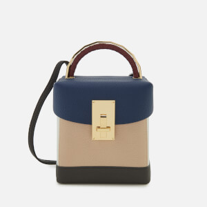 The Volon Women's Great L. Box Basic Bag - Navy/Ivory
