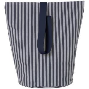 Ferm Living Basket with Webbing Strap - Large - Striped