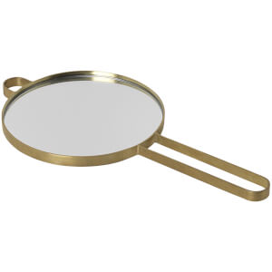 Ferm Living Poise Hand Mirror - Brass