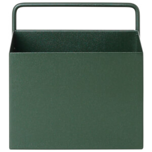 Ferm Living Wall Box - Square - Dark Green