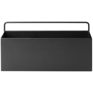 Ferm Living Wall Box - Rectangle - Black