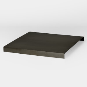 Ferm Living Tray for Plant Box - Black/Brass