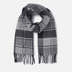 Polo Ralph Lauren Women's Blanket Scarf - Black/Grey