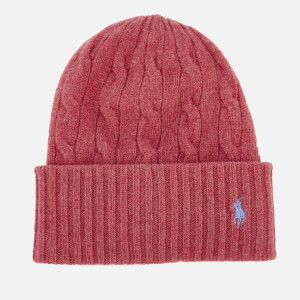 Polo Ralph Lauren Women's Wool Hat - Red Slate
