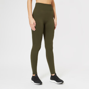 Calvin Klein Performance Women's Full Length Tights - Forest Night