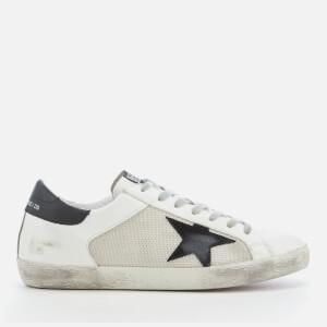 Golden Goose Deluxe Brand Men's Superstar Sneakers - White/Grey Cord