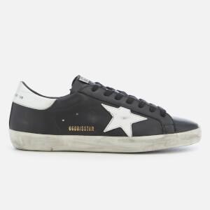 Golden Goose Deluxe Brand Men's Superstar Sneakers - Black/White Star