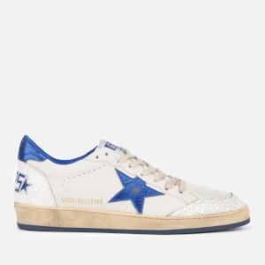 Golden Goose Deluxe Brand Men's Ball Star Sneakers - White/Blue