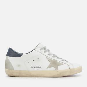 Golden Goose Deluxe Brand Men's Superstar Sneakers - White/Blue/Cream