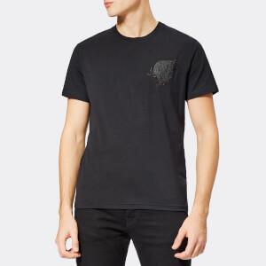 Versace Jeans Men's Small Logo T-Shirt - Black