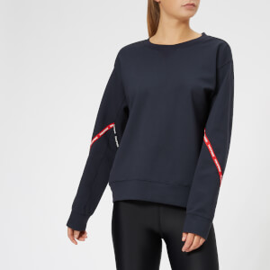 The Upside Women's Bardot Crew Neck Sweatshirt - Indigo