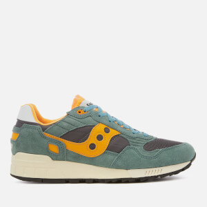 Saucony Men's Shadow 5000 Vintage Trainers - Teal/Blue/Orange