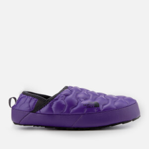The North Face Men's Thermoball Traction Mule IV Slippers - Shiny Tillandsia Purple/Phantom Grey