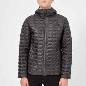 77a172a6ab The North Face Men's Thermoball Hooded Jacket - Asphalt Grey/Fusebox Grey  Process Print