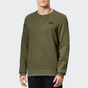 The North Face Men's Street Fleece Pullover Sweatshirt - New Taupe Green