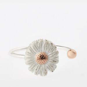Olivia Burton Women's Daisy Ring - Silver/Rose Gold