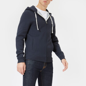 Jack Wills Men's Pinebrook Zipped Hoodie - Navy
