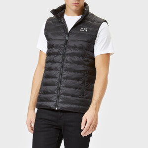 Jack Wills Men's Knole Core Gilet - Black: Image 1
