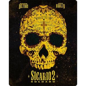 Sicario 2: Soldado 4K Ultra HD (Includes 2D Version) - Limited Edition Steelbook