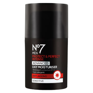 No7 Men's Protect & Perfect Intense Advanced Moisturiser SPF 30 1.69 fl. oz