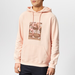 Axel Arigato Men's Heart Rate Sumo Slim Fit Hoodie - Pale Pink