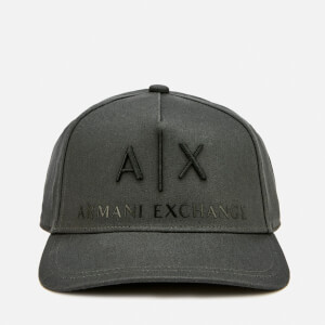 Armani Exchange Men's Logo Cap - Magnet
