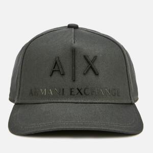 Armani Exchange Men's Logo Cap - Magnet