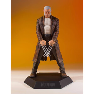 Estatua Old Man Logan Marvel Comics Lobezno 1:8 (22 cm)