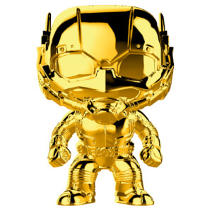 Marvel MS 10 Ant-Man Gold Chrome Funko Pop! Vinyl