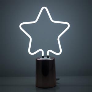 Mini Stern Neonlampe