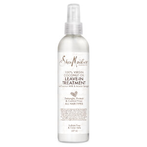 Shea Moisture 100% Virgin Coconut Oil Leave-In Conditioner odżywka do włosów bez spłukiwania 237 ml