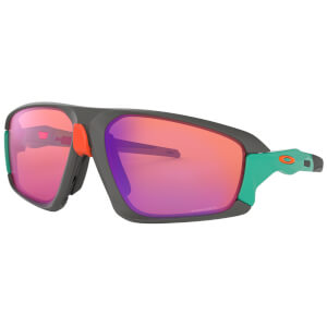 Oakley Field Jacket Sunglasses - Matte Dark Grey/Prizm Trail