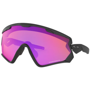 Oakley Wind Jacket 2.0 Sunglasses - Matte Black/Prizm Trail