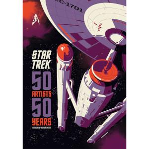 Star Trek - 50 Artists 50 Years (Hardback)