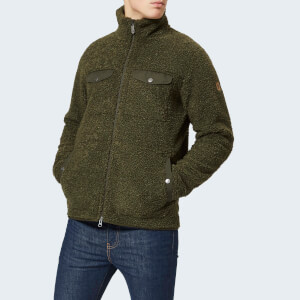Fjallraven Men's Greenland Pile Fleece Jacket - Deep Forest