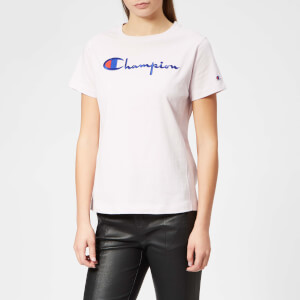 Champion Women's Crew Neck T-Shirt - Lilac