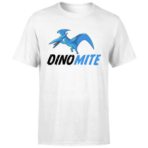 Dino Mite Men's T-Shirt - White