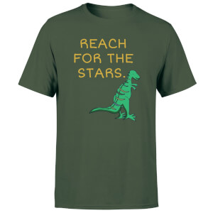 Reach For The Stars Men's T-Shirt - Forest Green