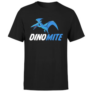 Dino Mite Men's T-Shirt - Black