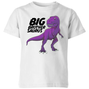 Im A Big Brothersaurus Kids' T-Shirt - White