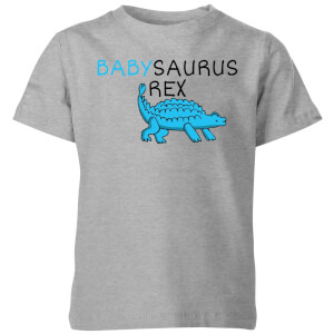 Babysaurus Rex Kids' T-Shirt - Grey