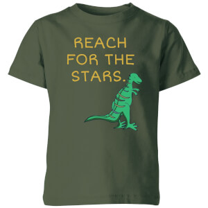 Reach For The Stars Kids' T-Shirt - Forest Green