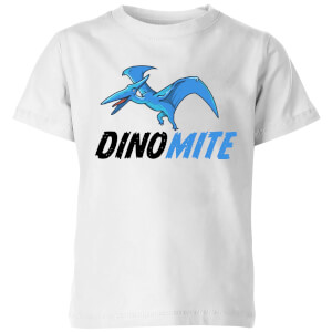 Dino Mite Kids' T-Shirt - White