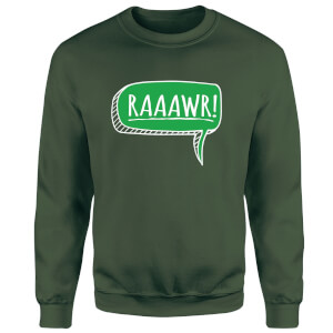Raaawr Sweatshirt - Forest Green