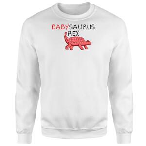 Babysaurus Sweatshirt - White