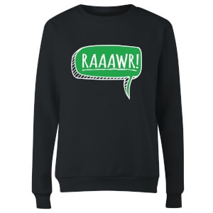 Raaawr Women's Sweatshirt - Black