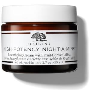 Origins High-Potency Night-a-Mins Resurfacing Cream with Fruit-Derived AHAs
