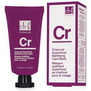 Dr Botanicals Charcoal Superfood Mattifying Face Mask